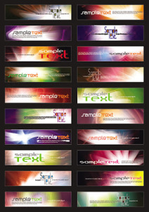 20+vector+vertical+banner+templates