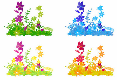 Free Vector Flower Patch.ai