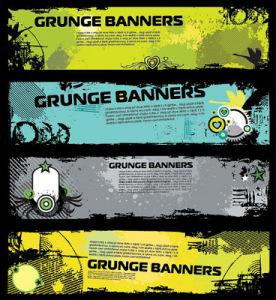 Grunge+Banner