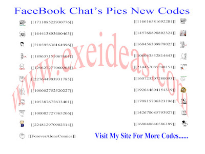 Facebook Chat's Pics New Codes.