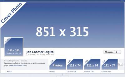 Facebook New Timeline Design Full Dimensions