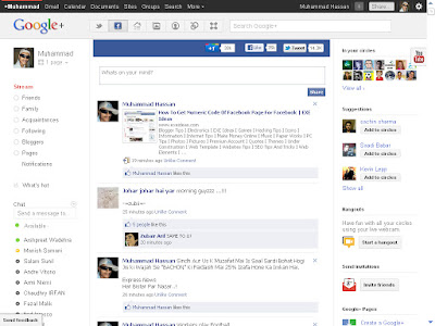 How To Embed Facebook & Twitter In Google Plus?