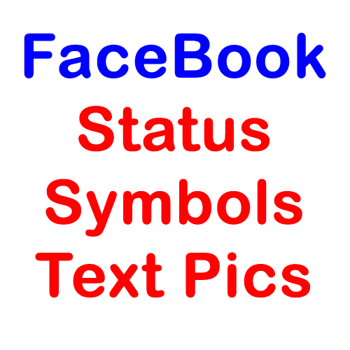 Facebook Status Symbols Text Pics Exeideas Lets Your Mind Rock