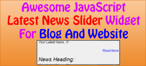 Awesome-JavaScript-Latest-News-Slider-Widget-For-Blog-And-Website