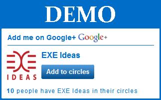 Google Plus Page/Profile Stylish Widget For Website & Blog