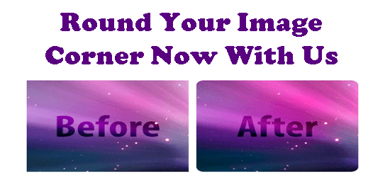 Create Rounded Corner Of An Image With Online Tool