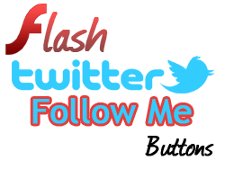 Flash/SWF Follow Me On Twitter Widgets For Blog And Website