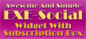 Awesome-And-Simple-EXE-Social-Widget-With-Subscription-Box