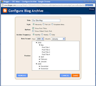 How To Show A Blogger Gadget On A Specified Page Or Post?