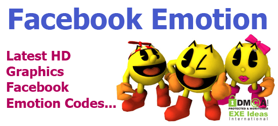 Latest HD Graphics Facebook Emotion Codes