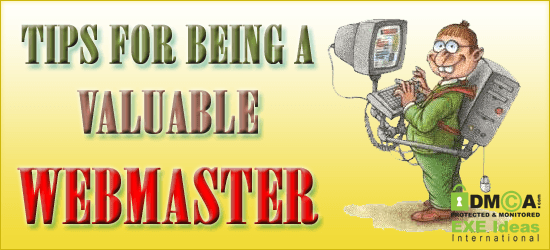 Tips For Being A Valuable Webmaster