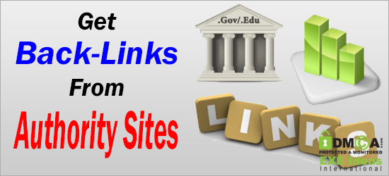 Get Back-Links From Authority Sites
