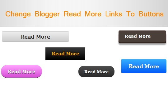 How To Change Read More Text With Your Image In Blogspot?