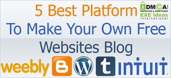 Create your own photo site and autos weblog How to make your own website for free