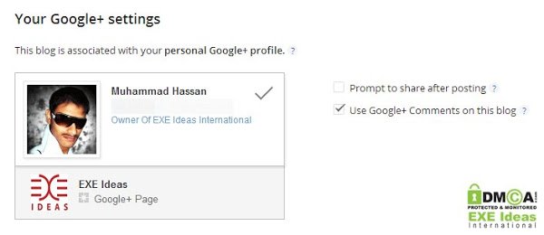 Add New Google-Plus Comment To Blogger Blogs Comments