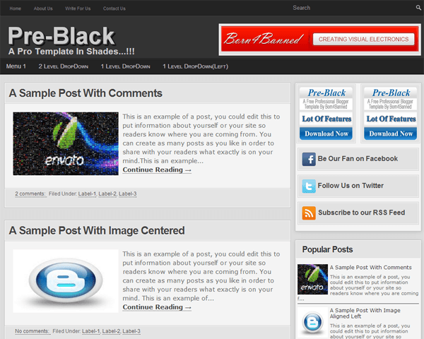 post template blogger code - how to add list style v1 blogger posts in blogspot