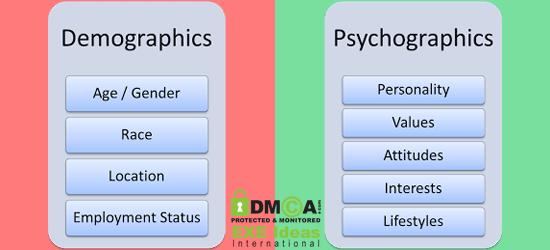 Psychographic-Vs-Demographics