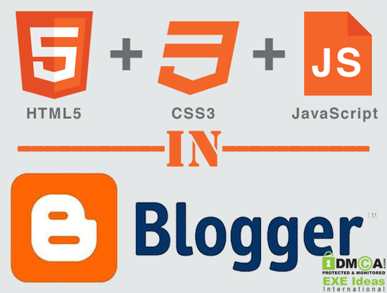 How To Create HTML-CSS-Javascript Website In Blogger?