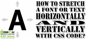 How-To-Stretch-A-Font-Text-With-CSS