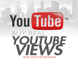 Buy Safe And Organic YouTube Views Via SocialFansGeek