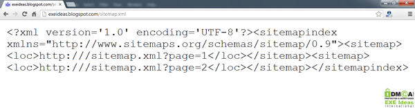 EXEIdeasBlog-New-XML-Sitemap
