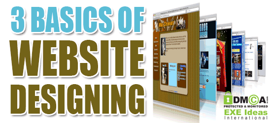 3 Basics of Website Designing