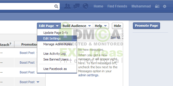 How To Make Your Facebook Fan Page Name Invisible? - EXEIdeas