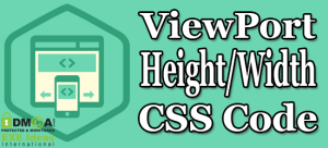 ViewPort-Height-Width-CSS-Code
