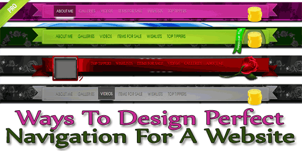 Ways To Design Perfect Navigation For A Website