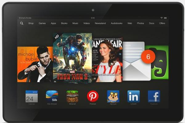 Amazon Kindle Fire HDX -- Text & Video Review