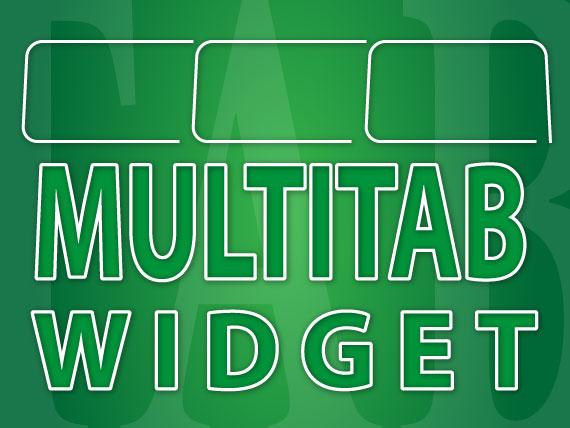Simple JavaScript Coded MultiTab Widget For Blog And Websites