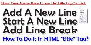 How-To-Add-Start-A-New-Line-Or-LineBreak-In-HTML-TITLE-TAG