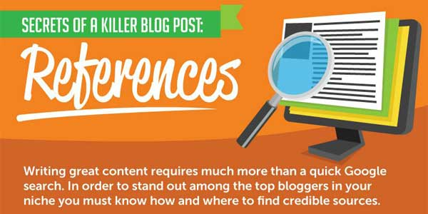 Improving Your Blog Content With Killer References