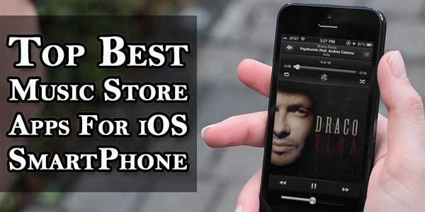 Top Best Music Store Apps For iOS SmartPhone