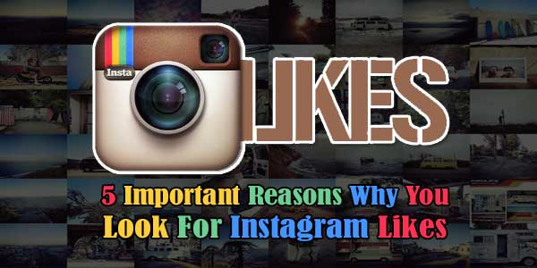 5 Important Reasons Why You Look For Instagram Likes