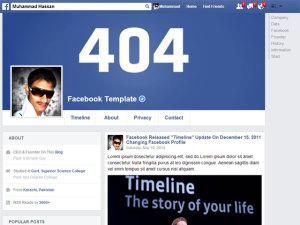 Facebook-Profile-Premium-Responsive-Blogger-Template