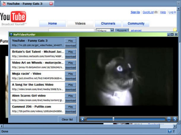 NetVideoHunter YouTube Download