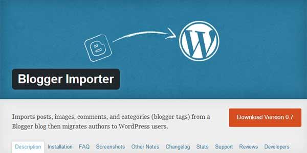 Blogger-Importer-WordPress-Plugin