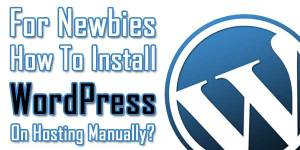 For-Newbies--How-To-Install-WordPress-On-Hosting-Manually