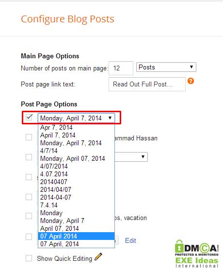 Customize Your Blogger Blog Post Date Beautifully As In WordPress
