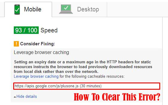 """How To Clear """"Level Browsing Cache"""" Error In Blogger?"""