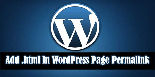 For-Newbies-How-To-Add-html-In-WordPress-Page-Permalink