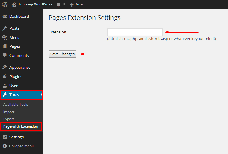 How To Add HTML In WordPress Pages Permalin