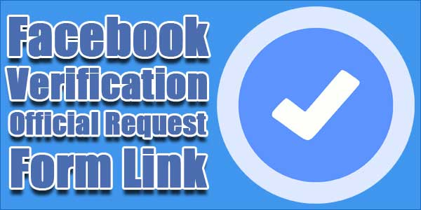 Facebook-FanPage-Verification-Official-Request-Form-Link