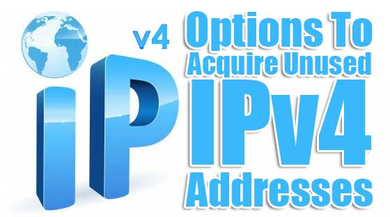 Options-To-Acquire-Unused-IPv4-Addresses