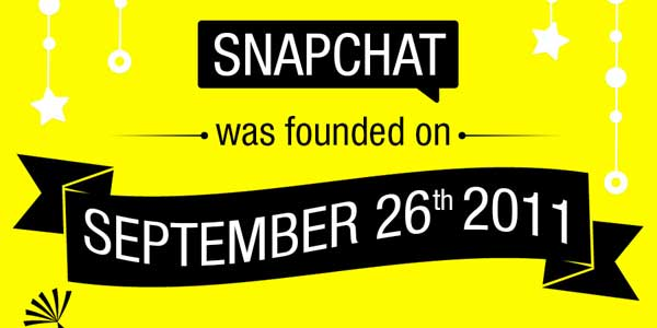 Happy-3rd-Birthday-SnapChat---A-Timeline-In-Infograph