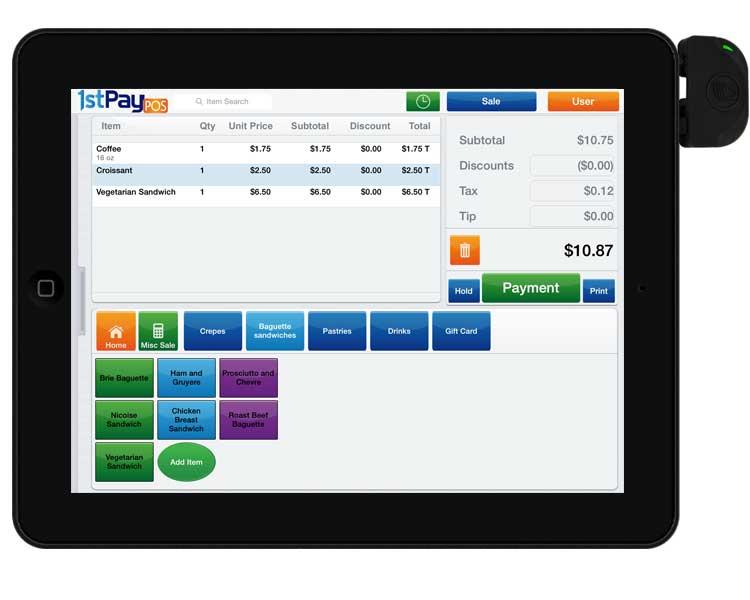 1stPayPOS-App