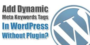 Add-Dynamic-Meta-Keywords-Tags-In-WordPress-Without-Plugin