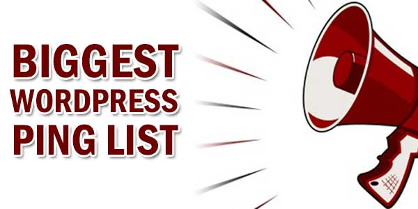 Biggest-WordPress-Ping-List