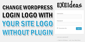 Change-WordPress-Login-Logo-With-Your-Site-Logo-Without-Plugin